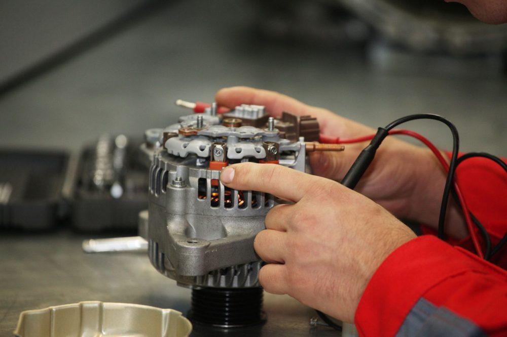 Ремонт генератора Skoda в Минске