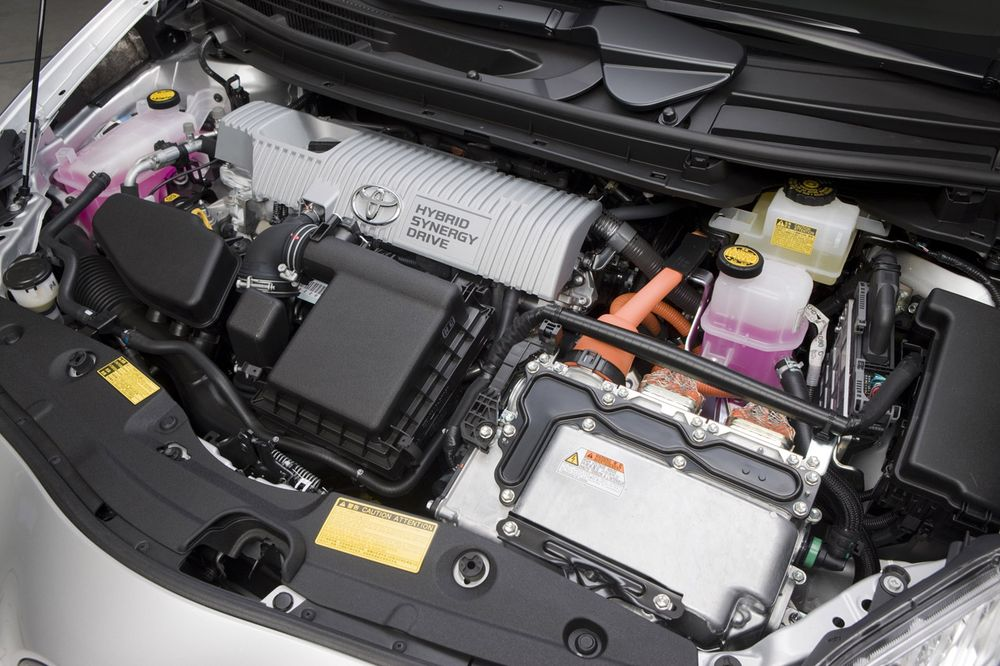 Ремонт гибридных двигателей Toyota в Минске