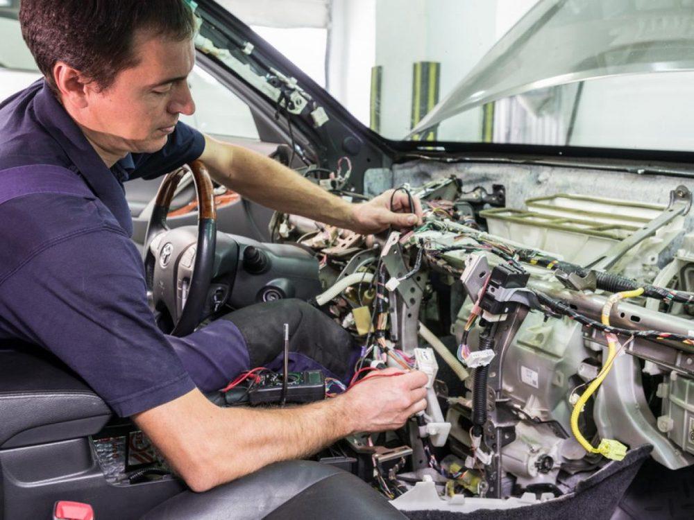Ремонт и восстановление электропроводки автомобиля  Toyota в Минске