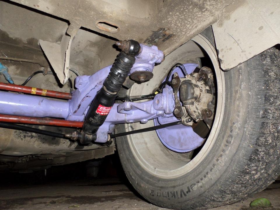 Ремонт задней балки Toyota в Минске