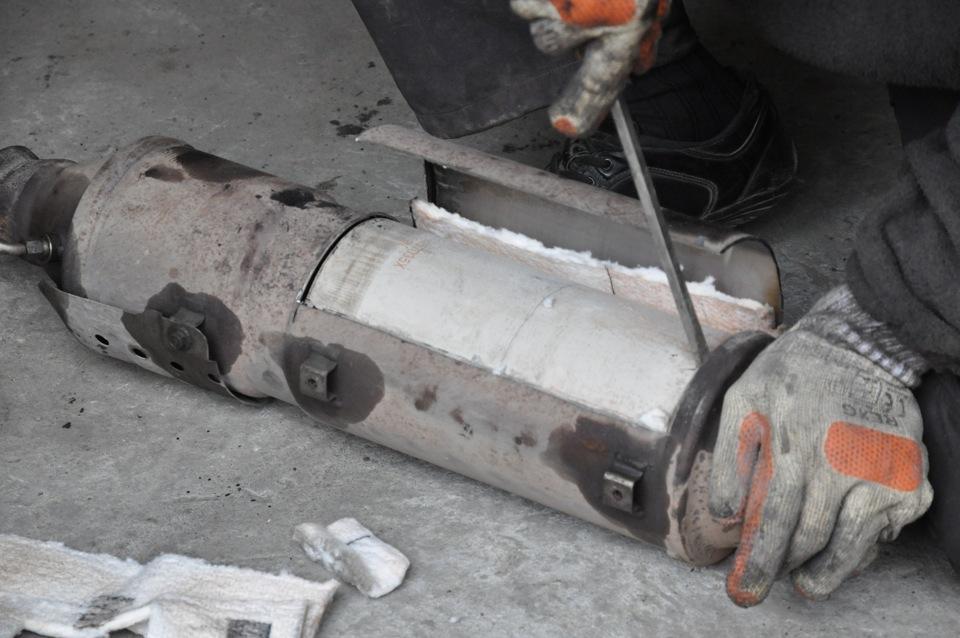 Удаление сажевого фильтра Mitsubishi в Минске
