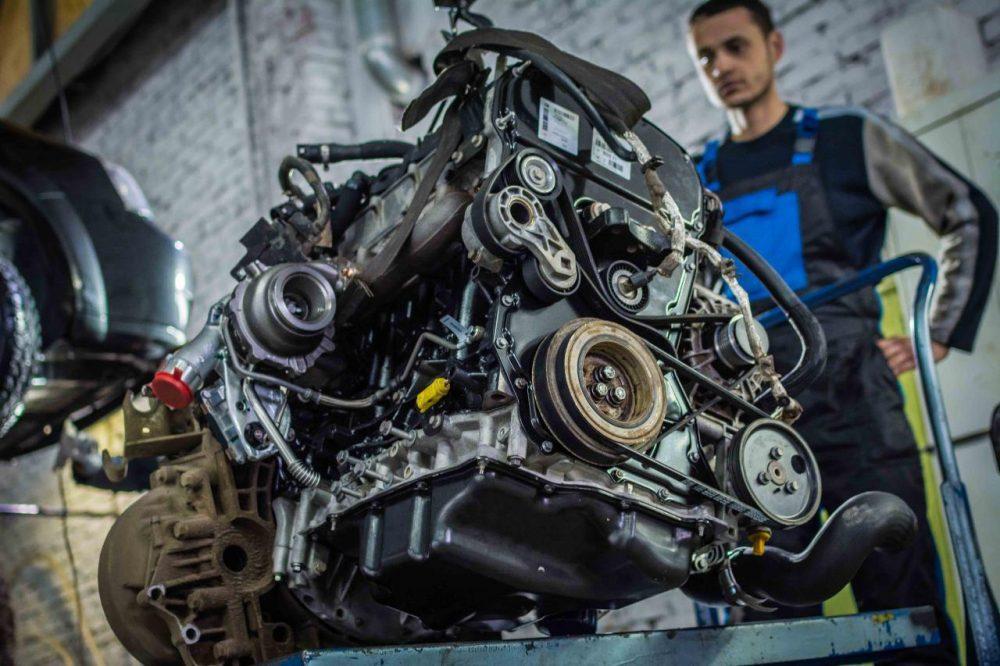 Замена двигателя KIA в Минске