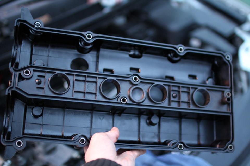 Замена клапанной крышки Mitsubishi в Минске