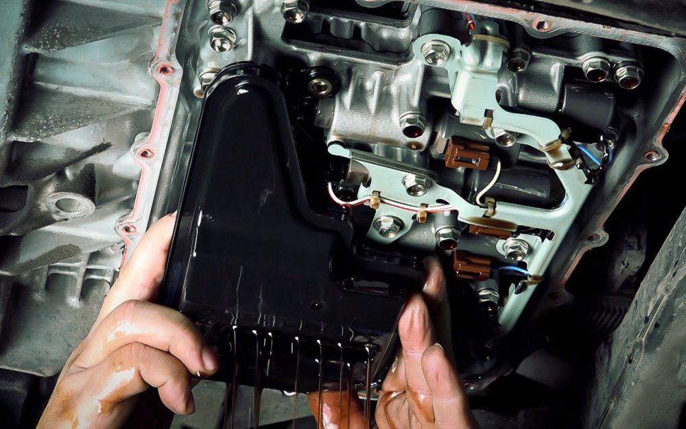 Замена масла в АКПП Mazda в Минске