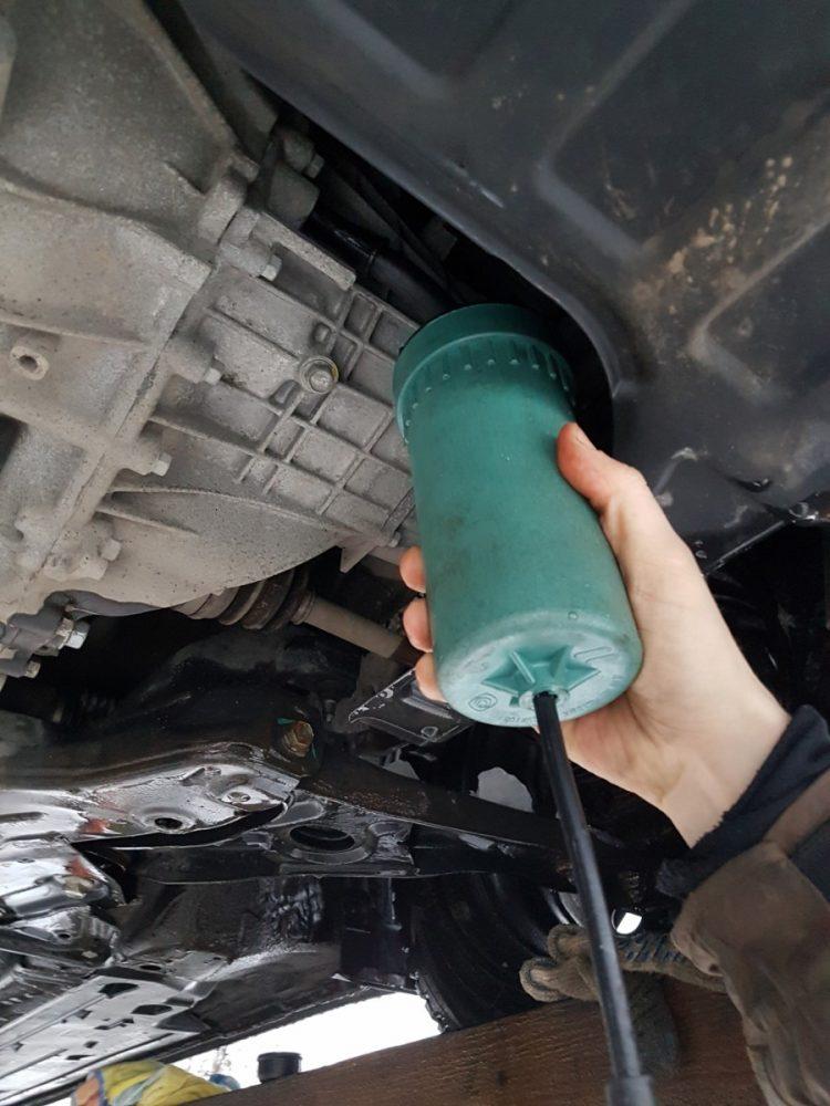 Замена масла в МКПП Skoda в Минске