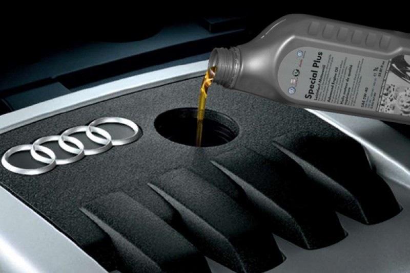 Замена масла в двигателе Audi в Минске