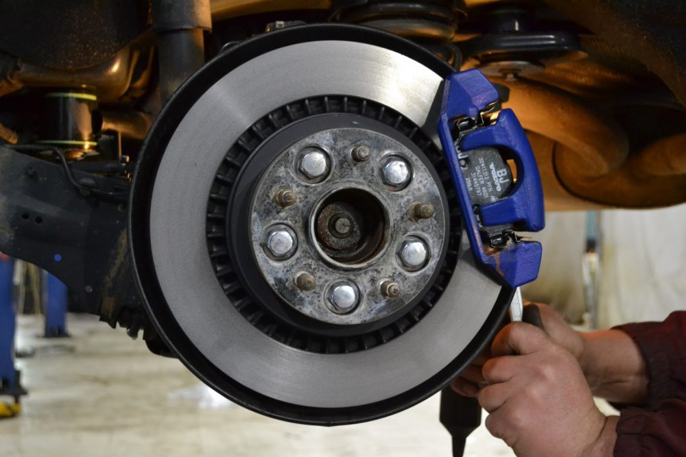 Замена тормозных дисков Mercedes в Минске