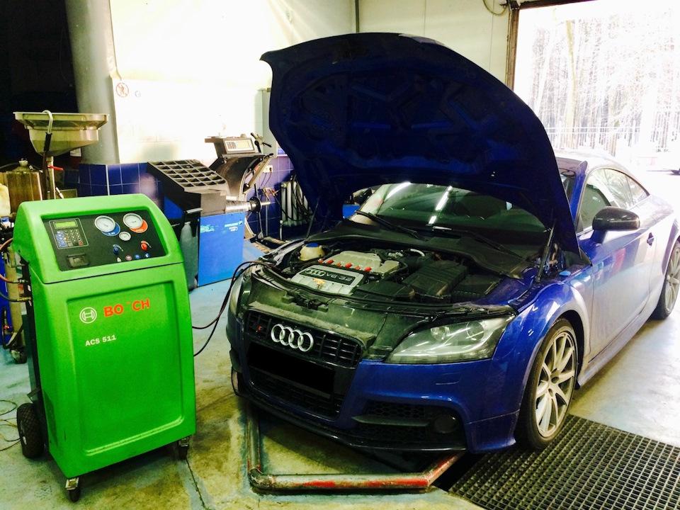 Заправка кондиционеров Audi в Минске