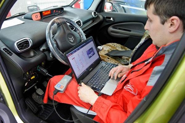 Диагностика Citroen перед покупкой в Минске