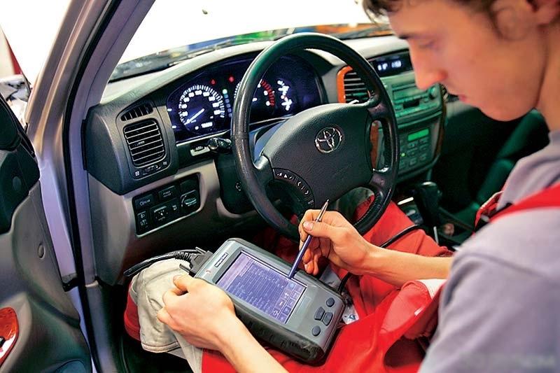 Диагностика Toyota перед покупкой в Минске