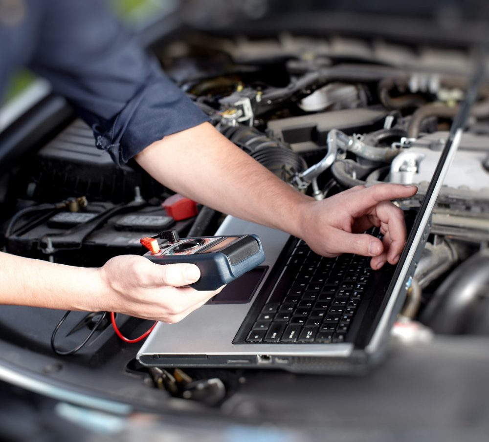 Компьютерная диагностика двигателя Mercedes в Минске