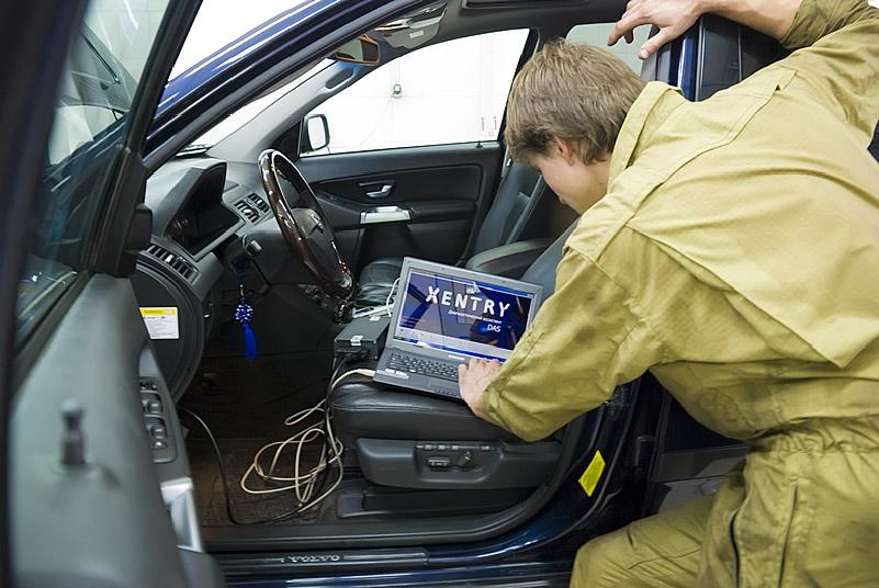 Диагностика АКПП Volvo в Минске