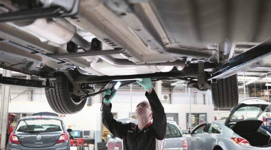 Диагностика подвески Mazda в Минске