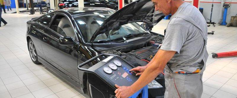 Диагностика систем кондиционирования Volvo в Минске