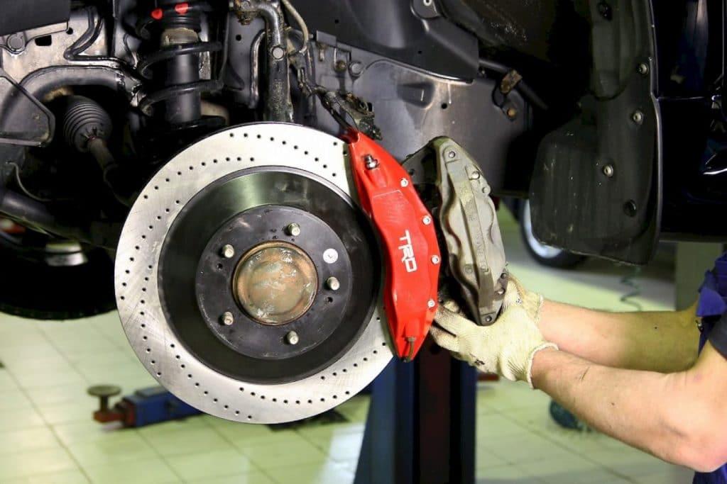 Диагностика тормозной системы Mazda в Минске