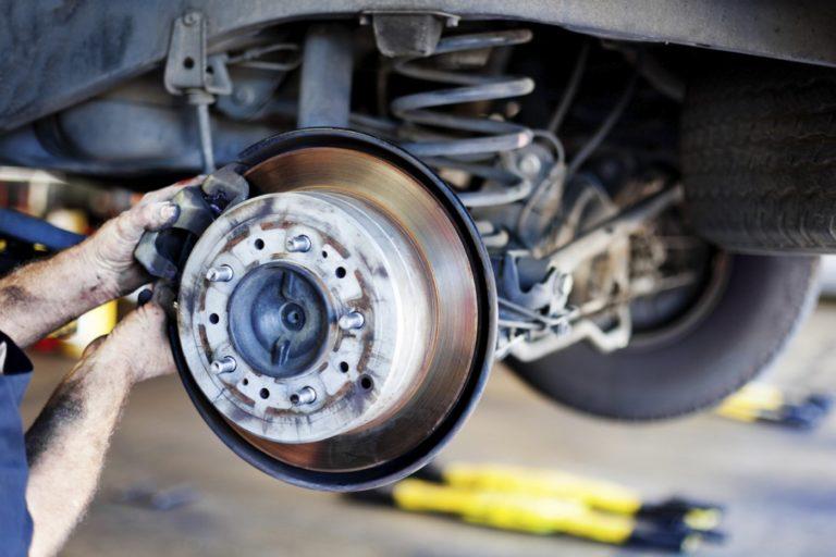 Диагностика тормозной системы Mercedes в Минске
