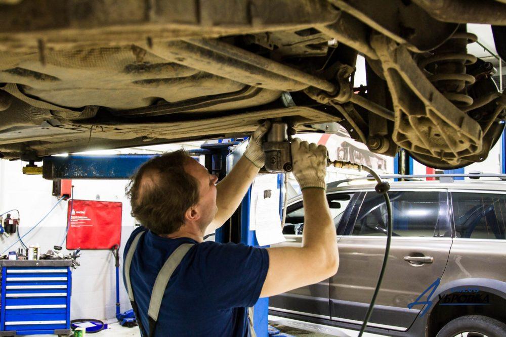 Ремонт подвески Volvo в Минске