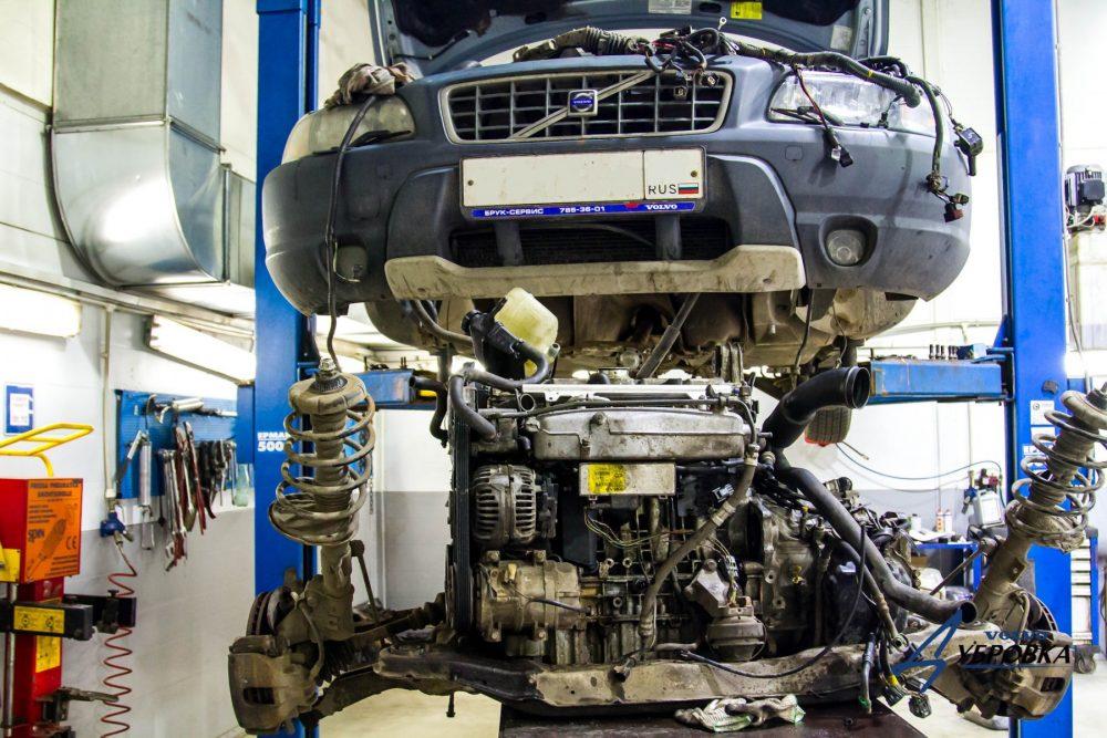Замена двигателя Volvo в Минске