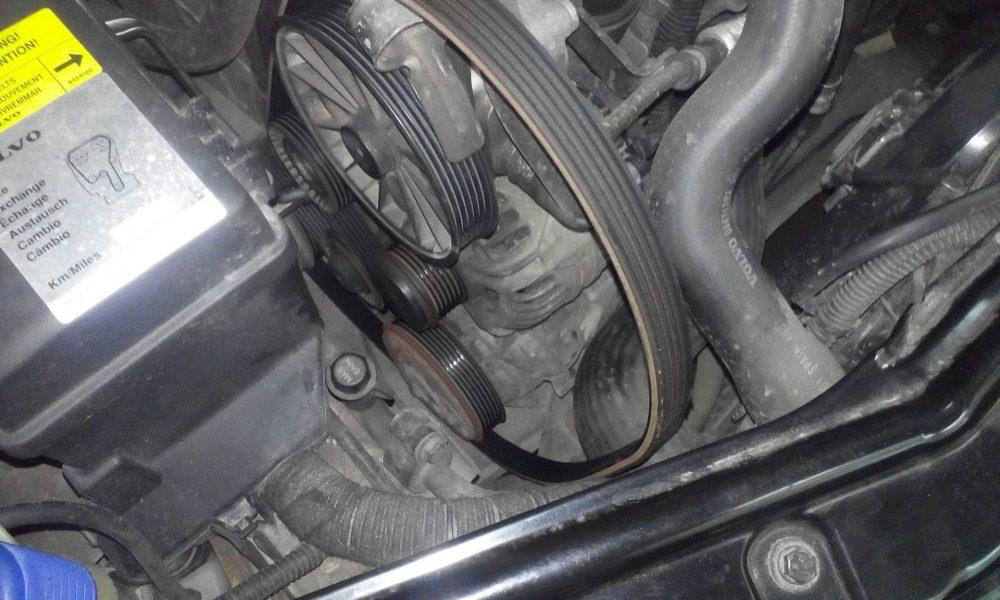 Замена генератора Volvo в Минске