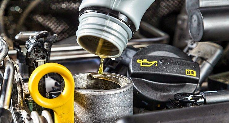 Замена масла дизельного двигателя Mitsubishi в Минске