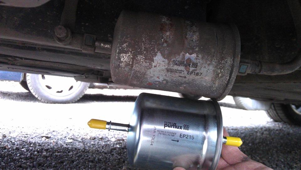 Замена топливного фильтра Volvo в Минске