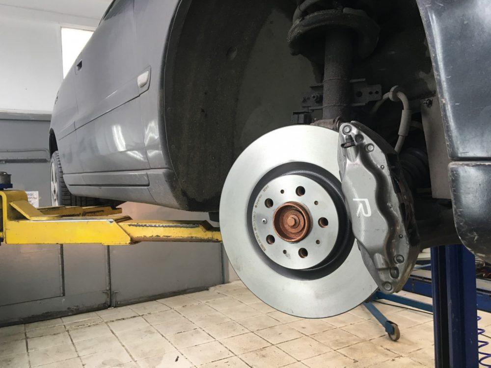 Замена тормозных дисков Volvo в Минске