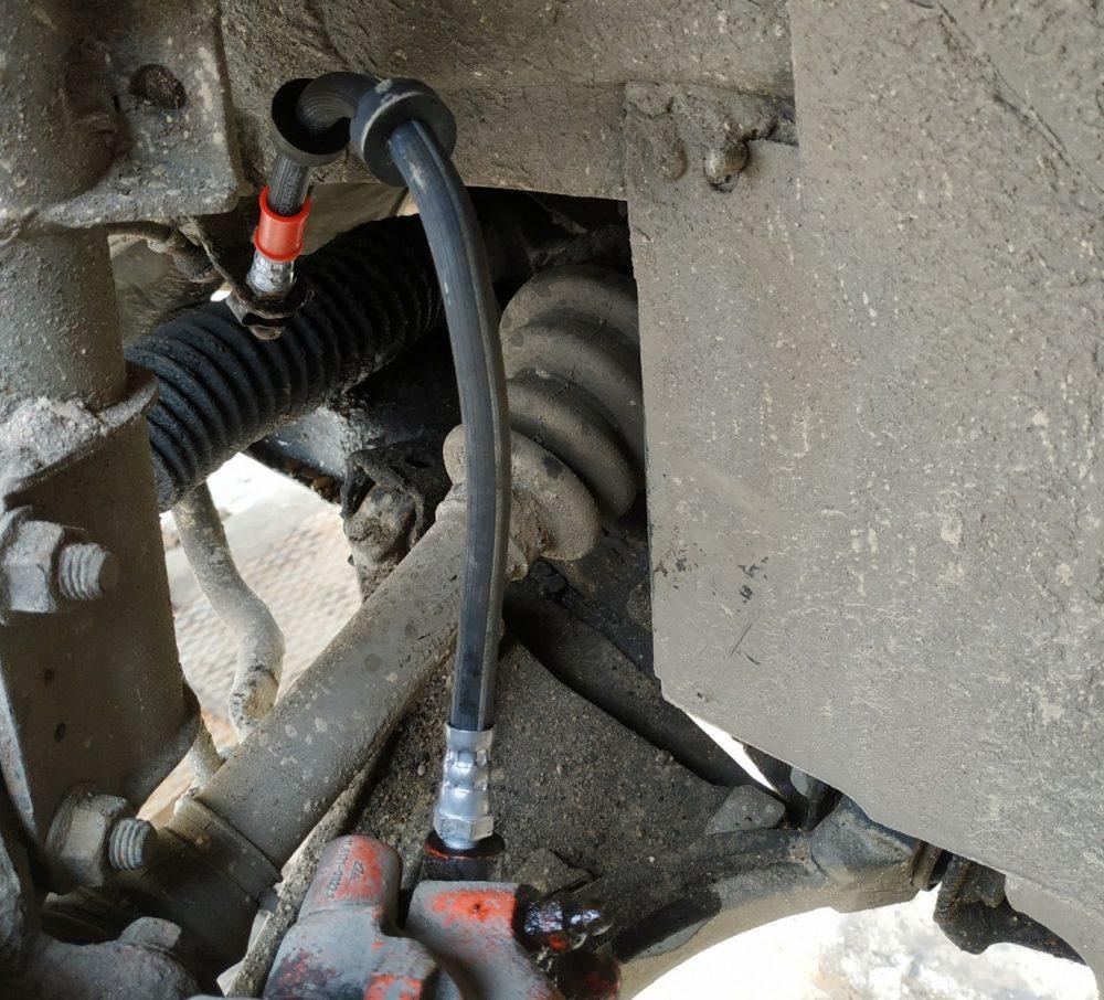 Замена тормозных трубок Nissan в Минске
