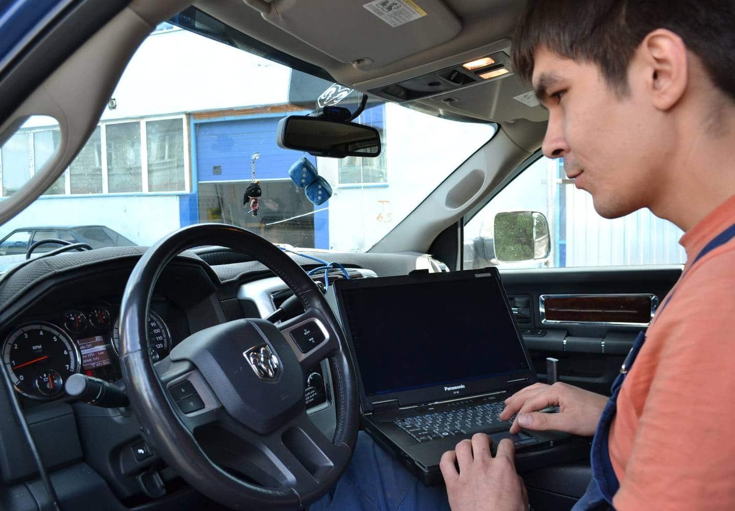 Диагностика Jeep перед покупкой в Минске